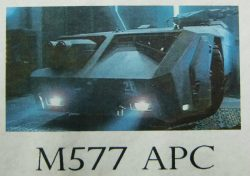 エイリアン2 植民地海兵隊 M577 APC