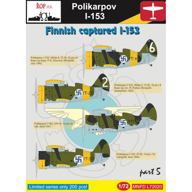 ポリカルポフ I-153 チャイカ Pt.5 フィンランド空軍鹵獲機