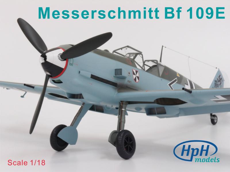 1/18スケール メッサーシュミット Bf108E