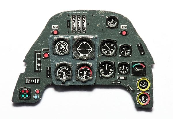 メッサーシュミット Bf109G 計器盤
