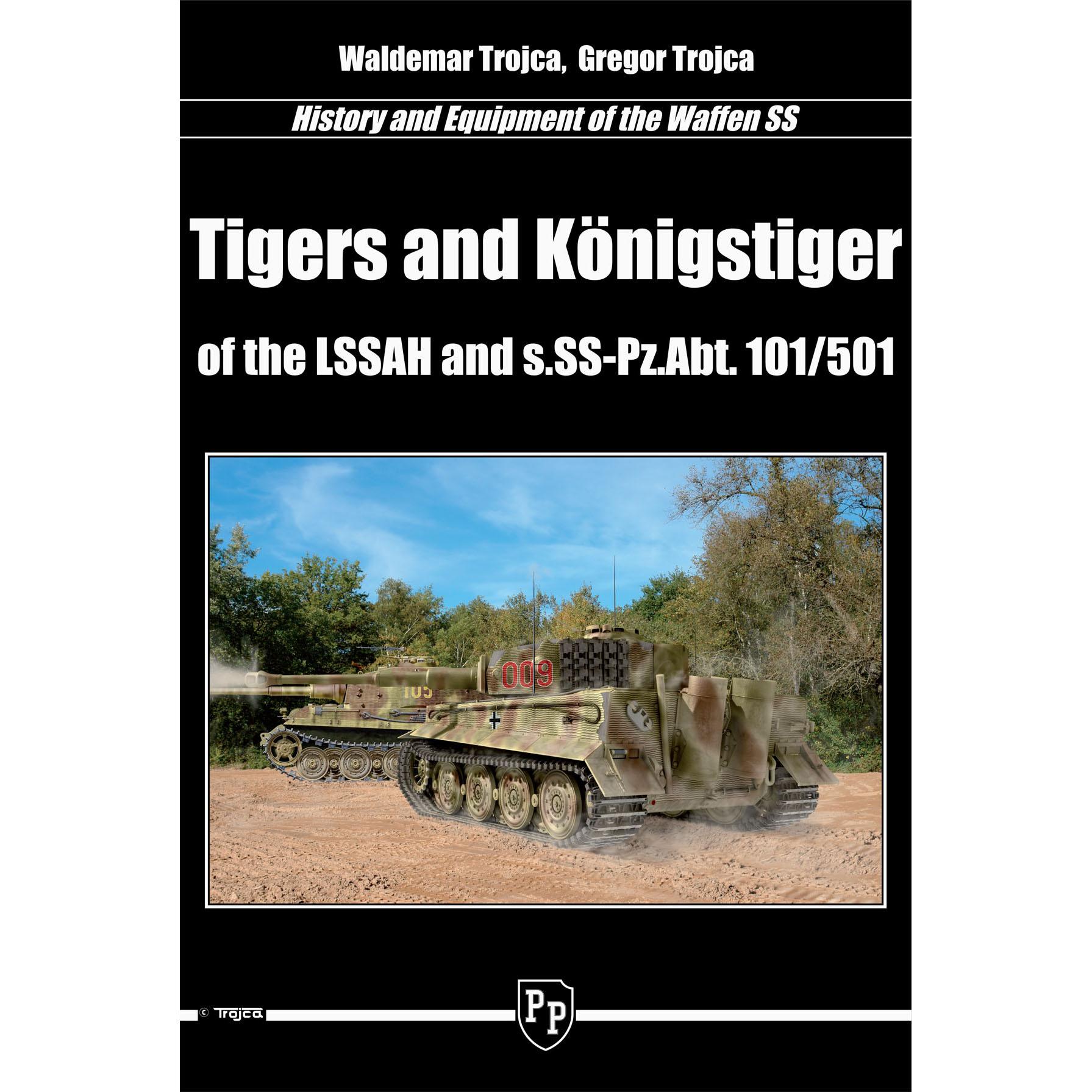 第1SS機甲師団とSS第101-第501重戦車大隊のティーガー/ケーニヒスティーガー