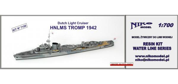 オランダ海軍 トロンプ級軽巡洋艦 トロンプ Tromp 1942