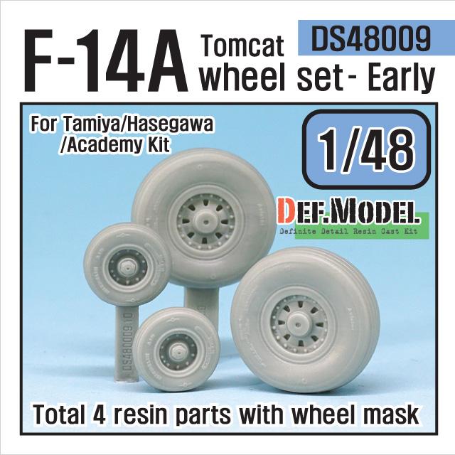 F-14A トムキャット 初期型自重変形タイヤセット