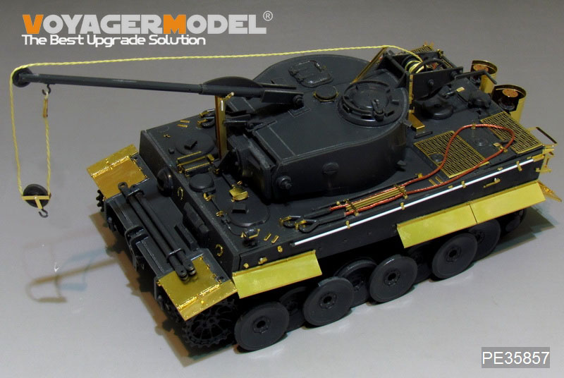 WWII 独 ティーガーI 戦車回収車 エッチング基本セット