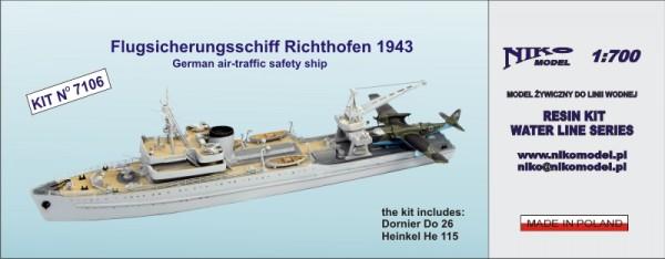 独海軍 水上機母艦 リヒトホーフェン Richthofen 1943