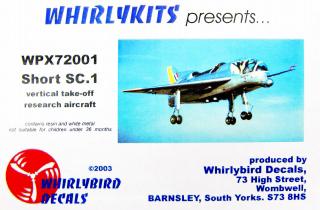 WPX72001)ショート SC.1 垂直離着陸 ...