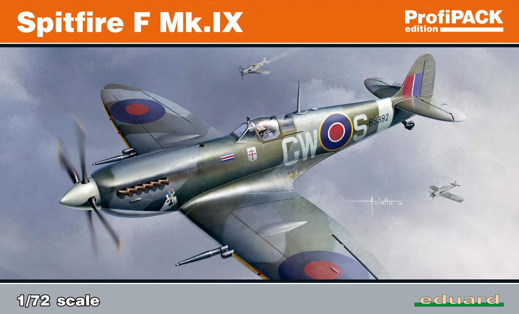 スーパーマリン スピットファイア F Mk.IX プロフィパック