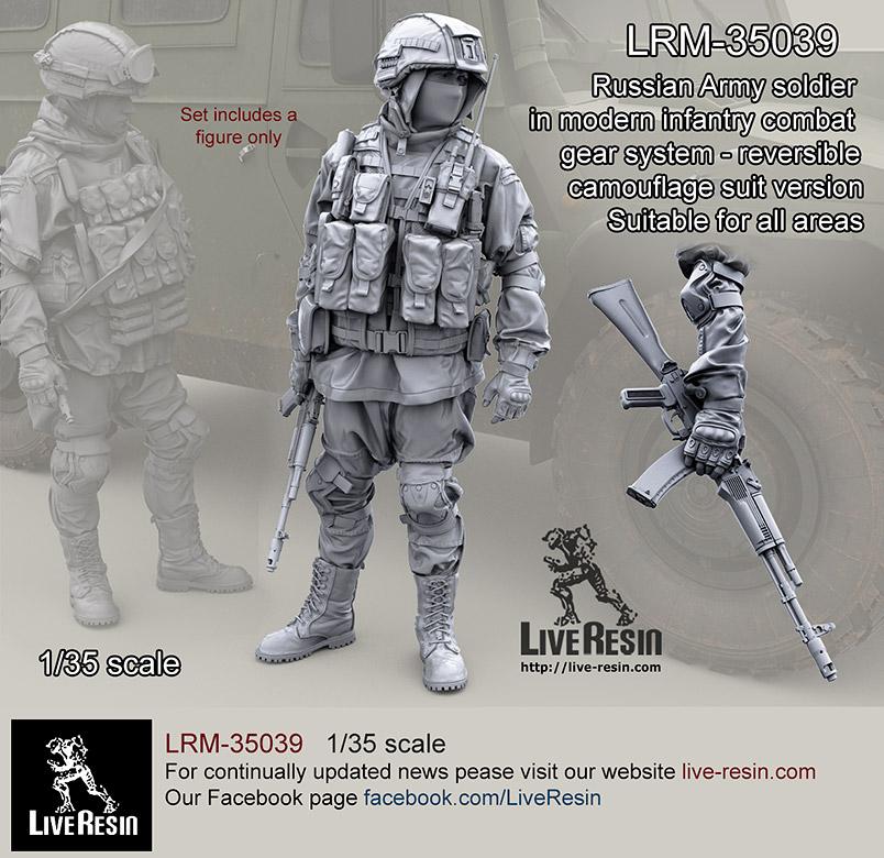 Set 9 LRM-35047 1//35 Russian Army APC Driver Live Resin