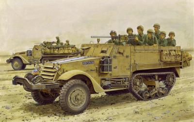 【新製品】3569)中東戦争 イスラエル国防軍 IDF M3ハーフトラック