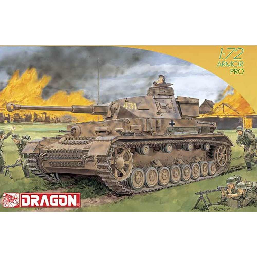 【新製品】7359 WWII ドイツ IV号戦車 F2(G)型