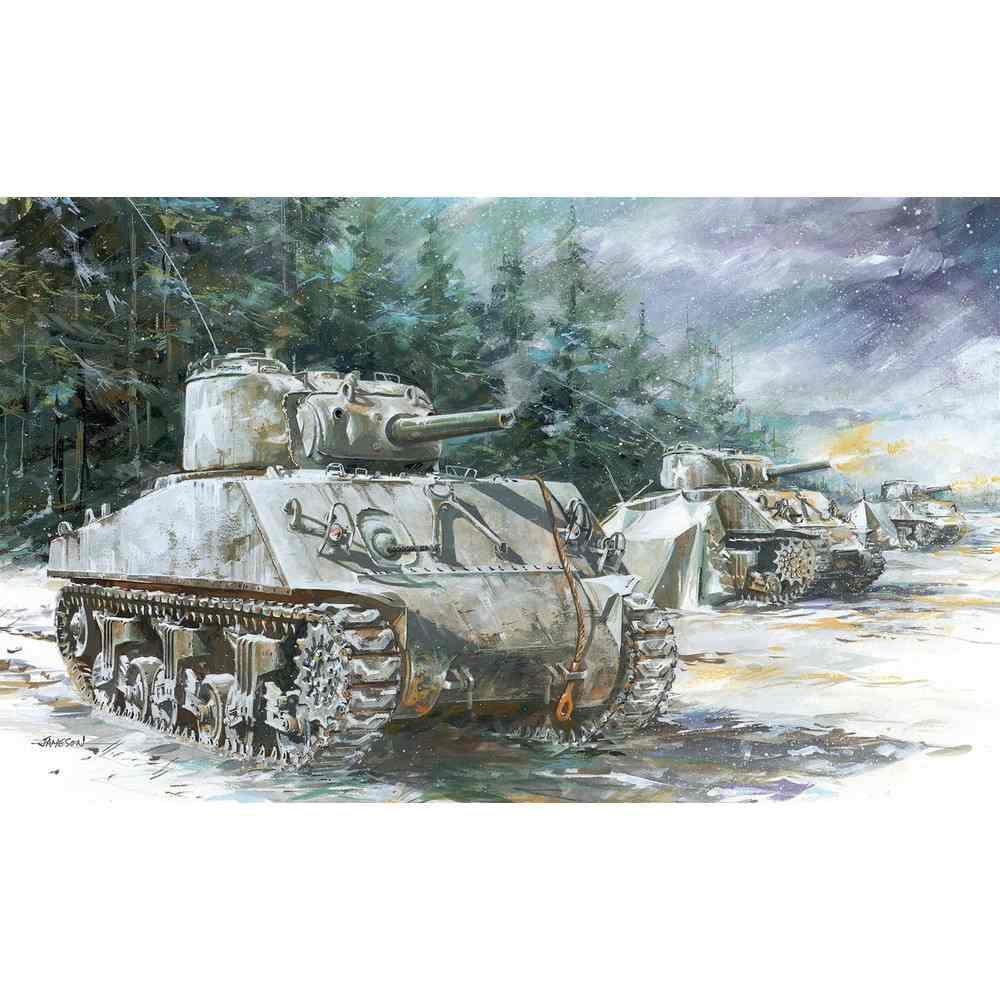 【新製品】7569 アメリカ軍 M4A3(105mm)VVSS シャーマン