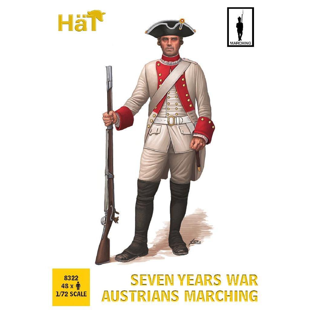 【新製品】8322 7年戦争 オーストリア歩兵 行進