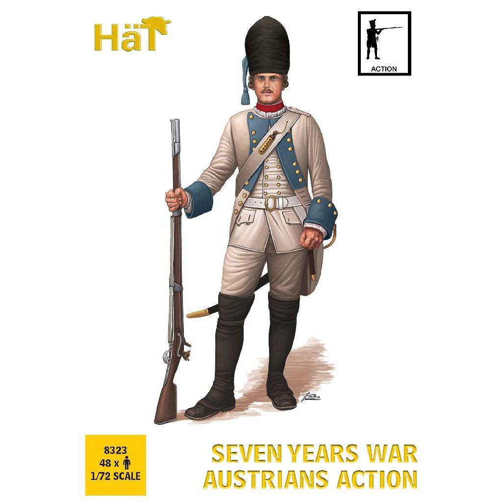 【新製品】8323 7年戦争 オーストリア歩兵 アクション