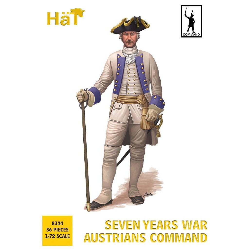 【新製品】8324 7年戦争 オーストリア歩兵 コマンド