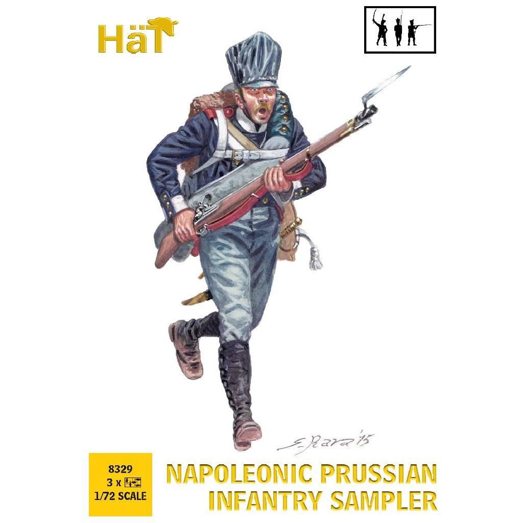 【新製品】8329 ナポレオン戦争 プロシア歩兵 サンプラー