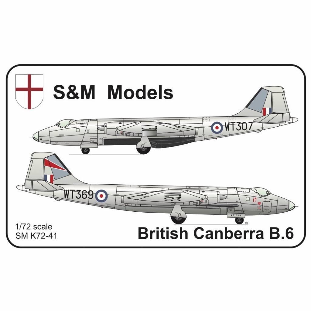 【新製品】S&M Models SMK72-41 BAC/EE キャンベラ B.6
