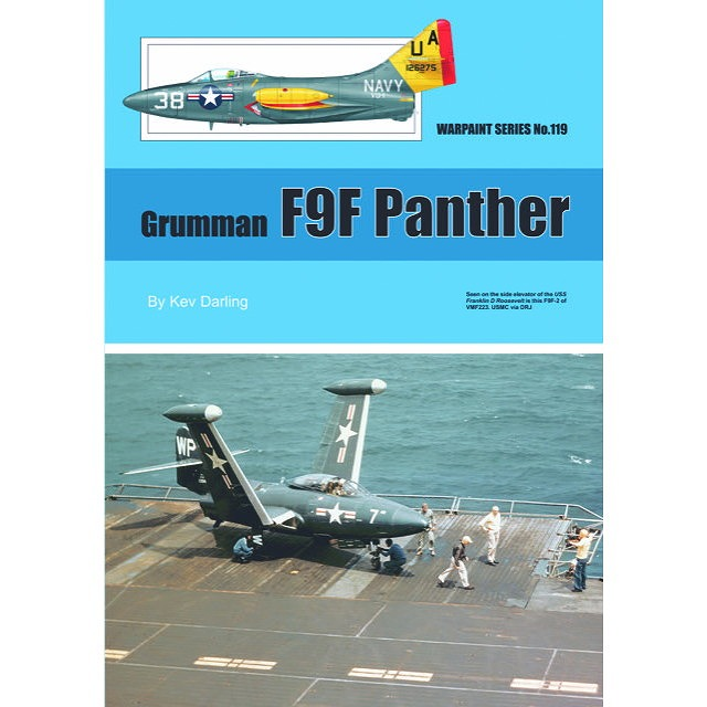 【新製品】No.119 グラマン F9F パンサー