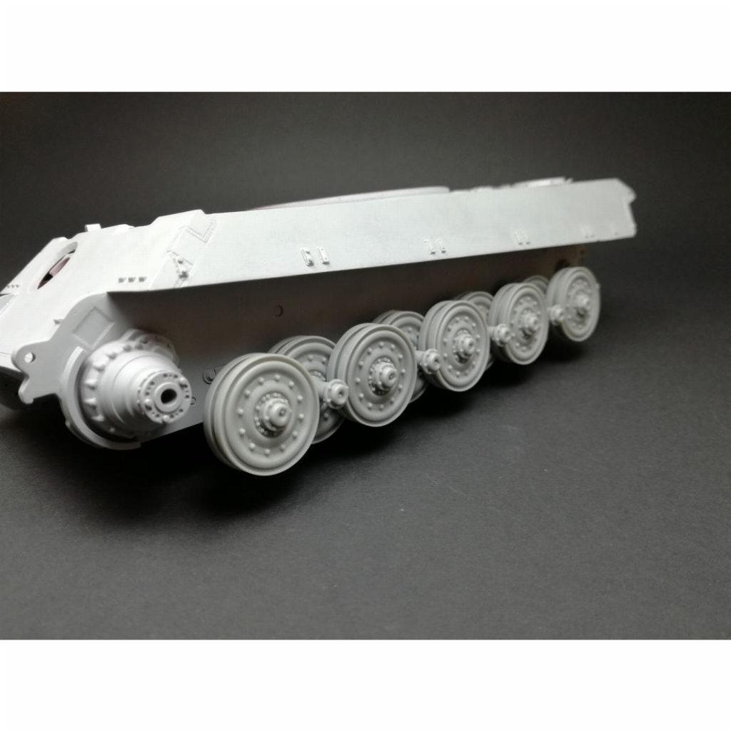 【新製品】35037 Sd.Kfz.182 キングタイガー転輪セット (1輌分)