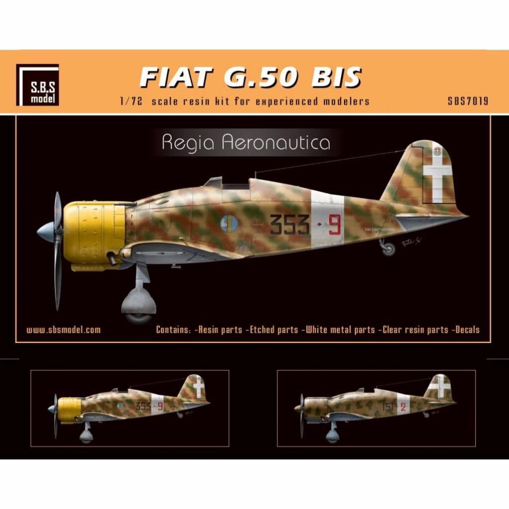 【新製品】SBS7019 フィアット G.50bis フレッチア 「イタリア」