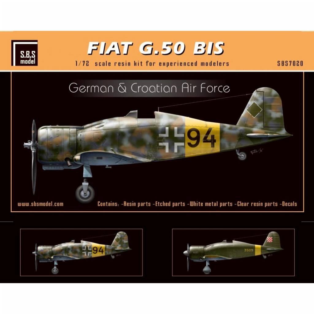 【新製品】SBS7020 フィアット G.50bis フレッチア 「ドイツ・クロアチア」
