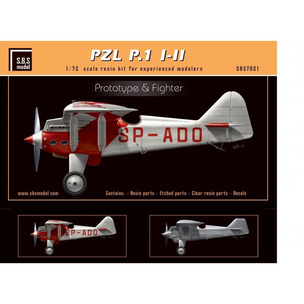 【新製品】SBS72021 PZL P.1 I/II 戦闘機