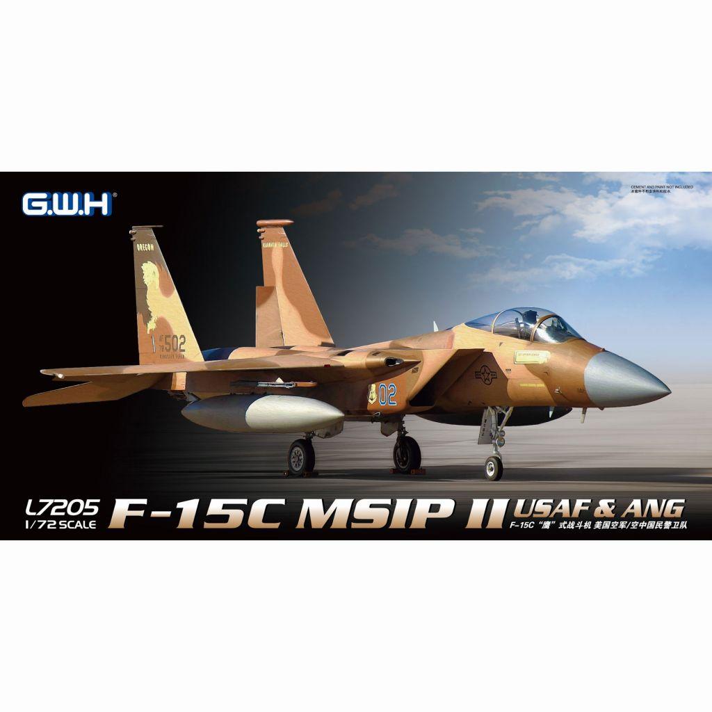 【新製品】L7205 アメリカ空軍 F-15C イーグル MSIPII USAF & ANG