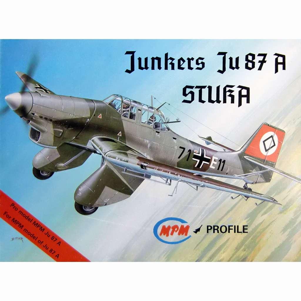 【新製品】MPMK001 ユンカース Ju87A スツーカ プロファイル