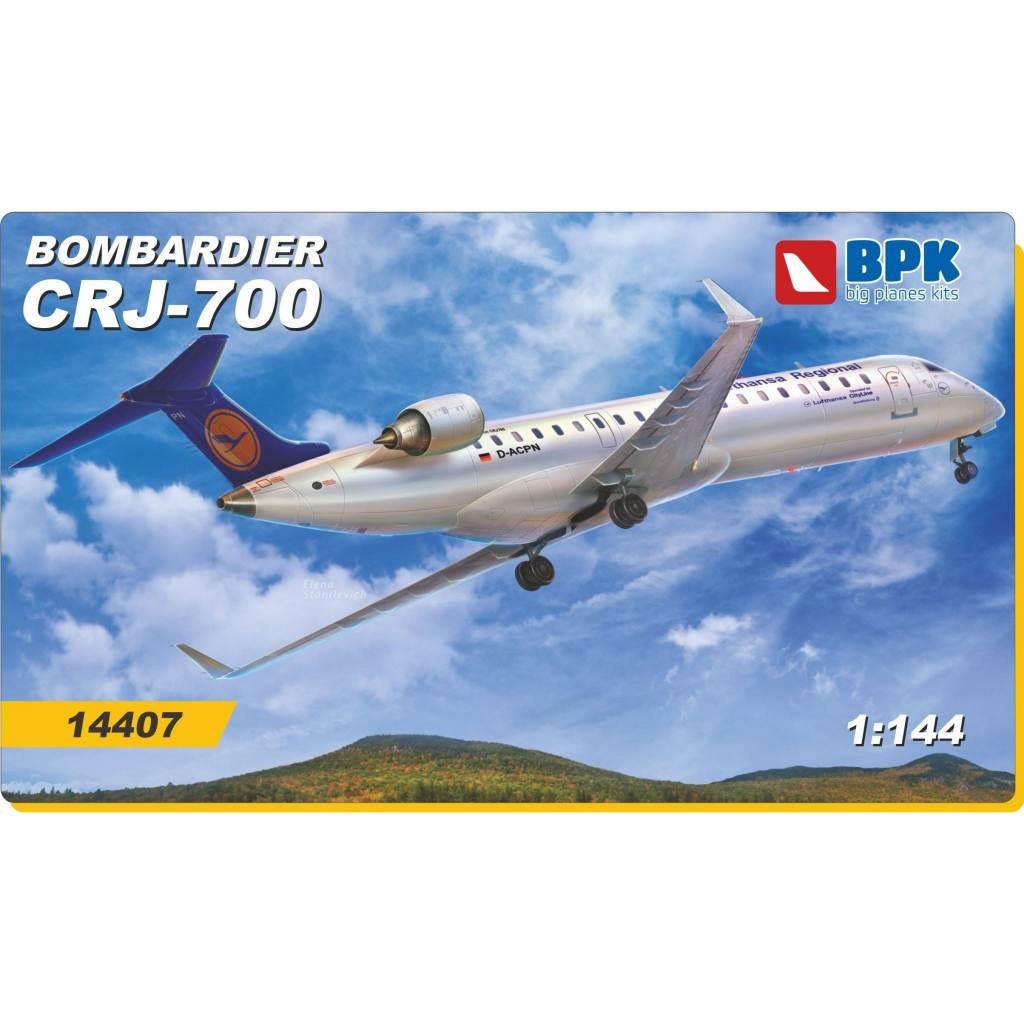 【新製品】BPK14407 ボンバルディア CRJ-700 ヨーロッパ航空会社