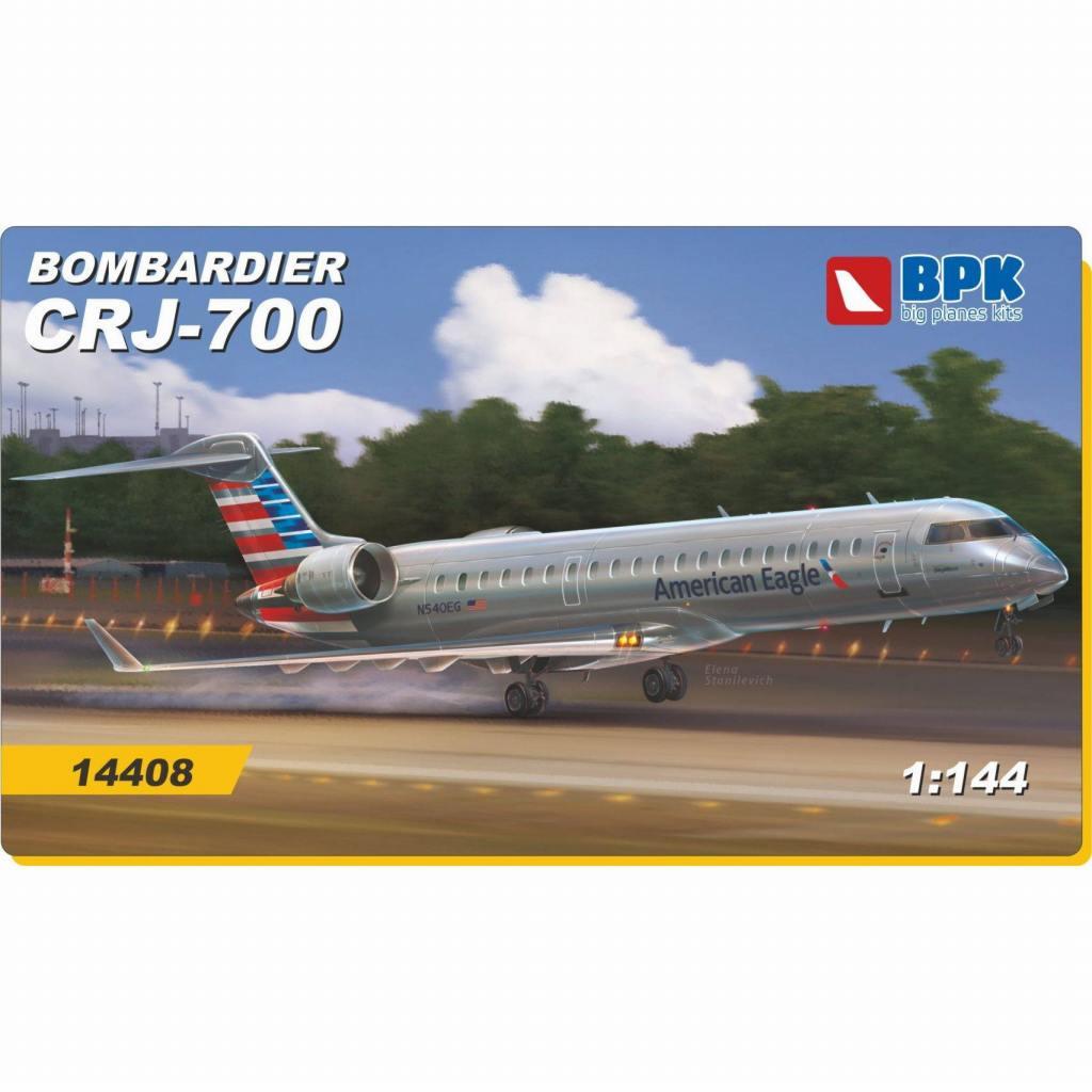 【新製品】BPK14408 ボンバルディア CRJ-700 北米航空会社