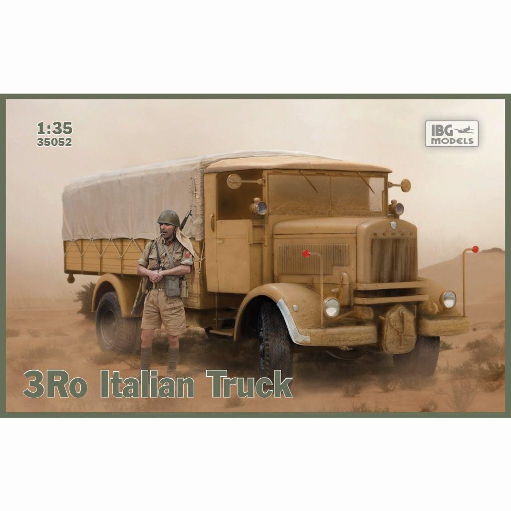 【新製品】35052 伊 ランチア 3Ro 重トラック カーゴタイプ