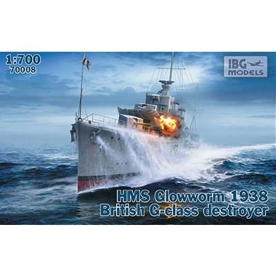 【新製品】PB70008 英海軍 G級駆逐艦 H92 グローウォーム 1938年