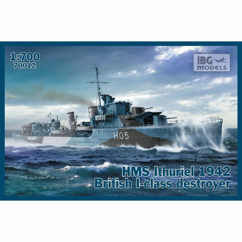 【新製品】PB70012 英 I級駆逐艦 イシュリエルH-05 英海軍1942年