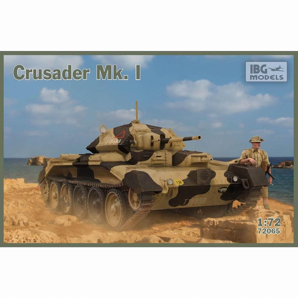 【新製品】72065 英 クルセーダー Mk.I 巡航戦車VI型
