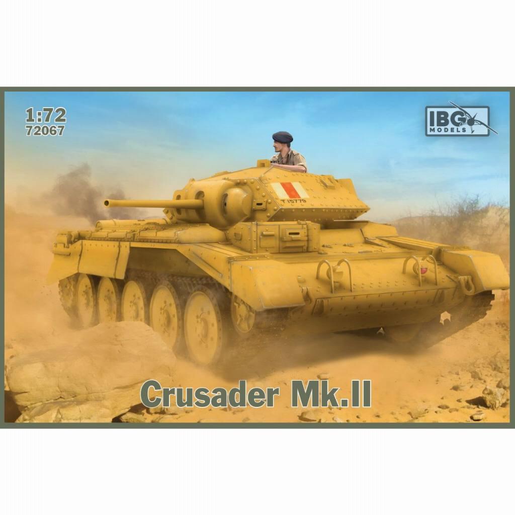 【新製品】72067 英 クルセーダー Mk.II 巡航戦車 VI型