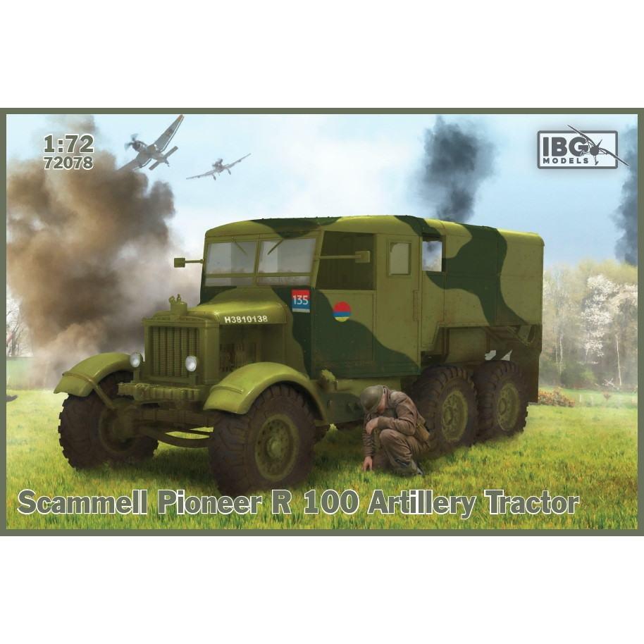 【新製品】72078 英 スキャンメル パイオニア R100 重砲牽引車