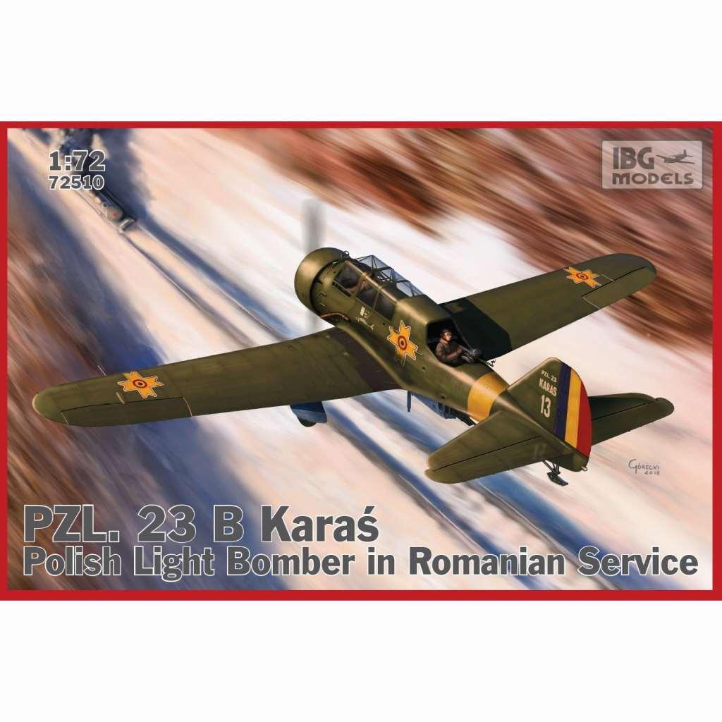 【新製品】72510 ルーマニア 軽爆撃機 PZL23B カラシュ