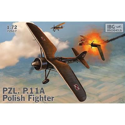 【新製品】72517 ポーランド PZL P.11a ガル翼戦闘機