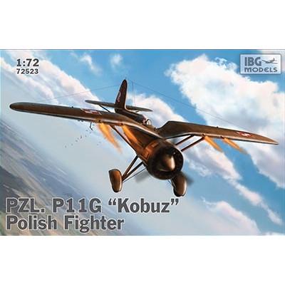 【新製品】72523 ポーランド PZL P.11G ガル翼戦闘機コブス(隼)