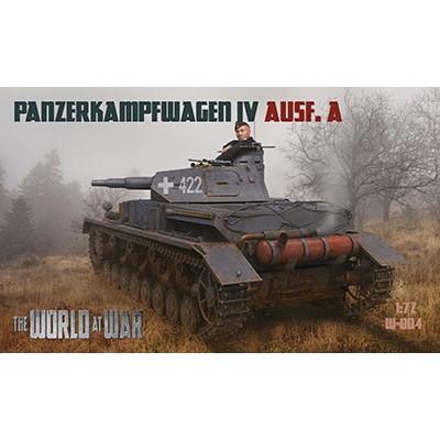 【新製品】ワールドアットウォー W-004 独 IV号戦車A型