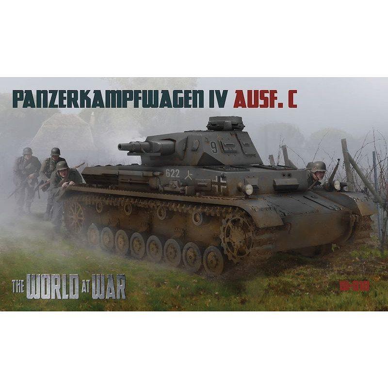 【新製品】ワールドアットウォー W-010 独 IV号戦車C型