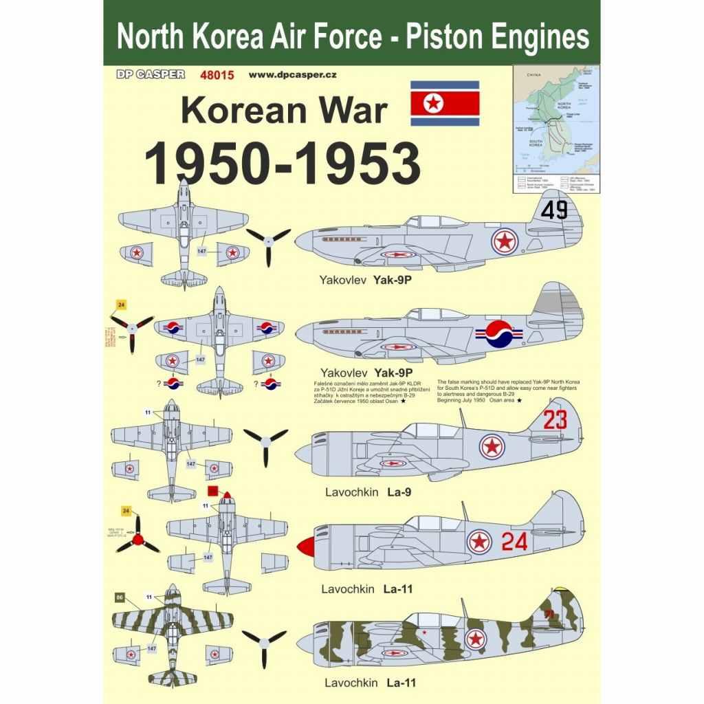 【新製品】48015 北朝鮮空軍 朝鮮戦争 1950-1953