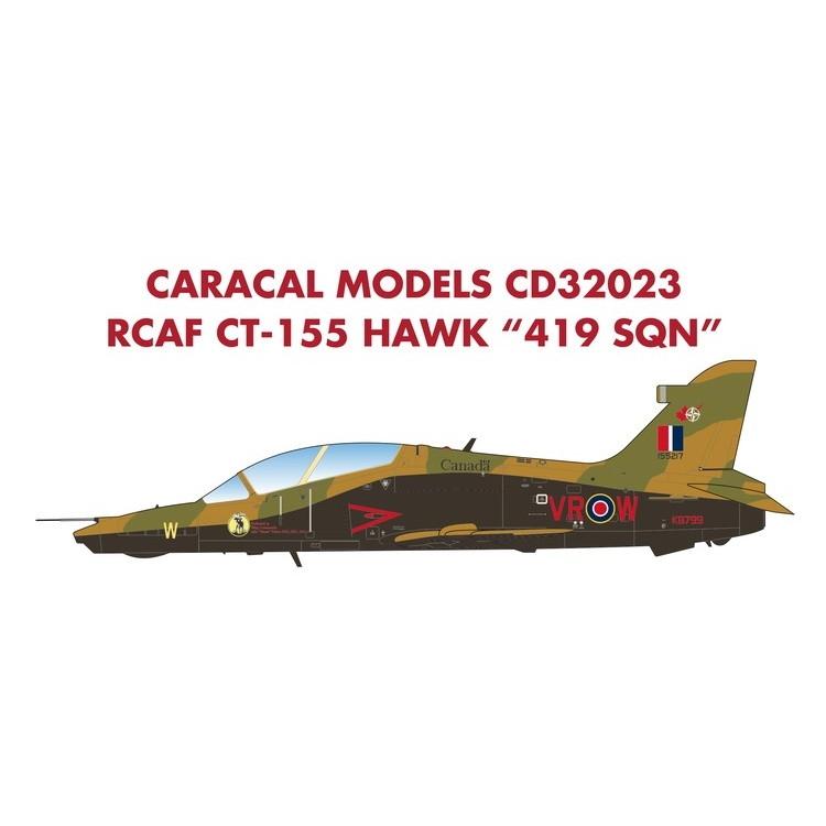 【新製品】32023)RCAF CT-155 ホーク 419SQN Anniversary