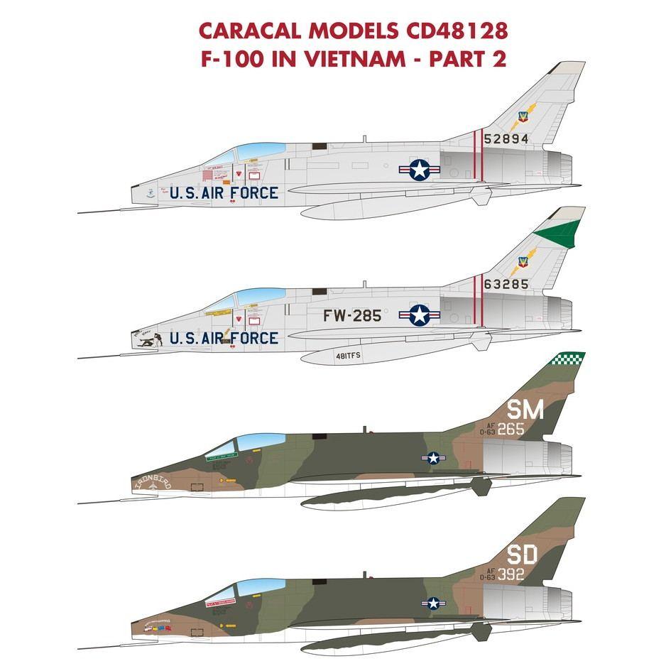 【新製品】48128 F-100D スーパーセイバー ベトナム PART2