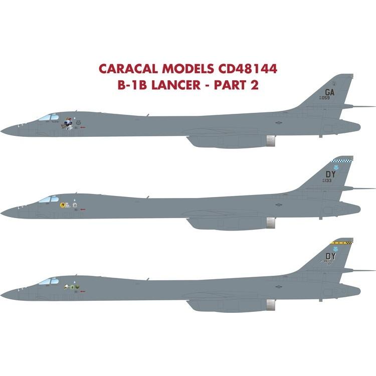 【新製品】48144 B-1B ランサー Part.2