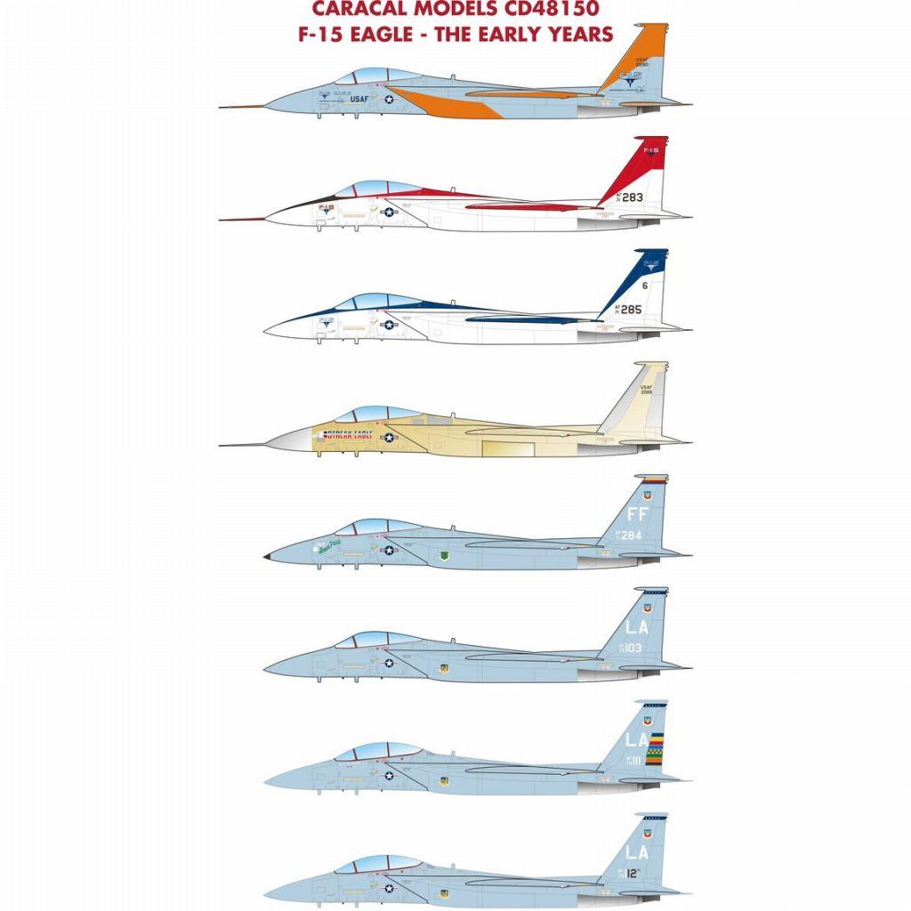 【新製品】48150 F-15 イーグル 初期