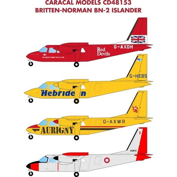 【新製品】48153 ブリテン・ノーマン BN-2 アイランダー