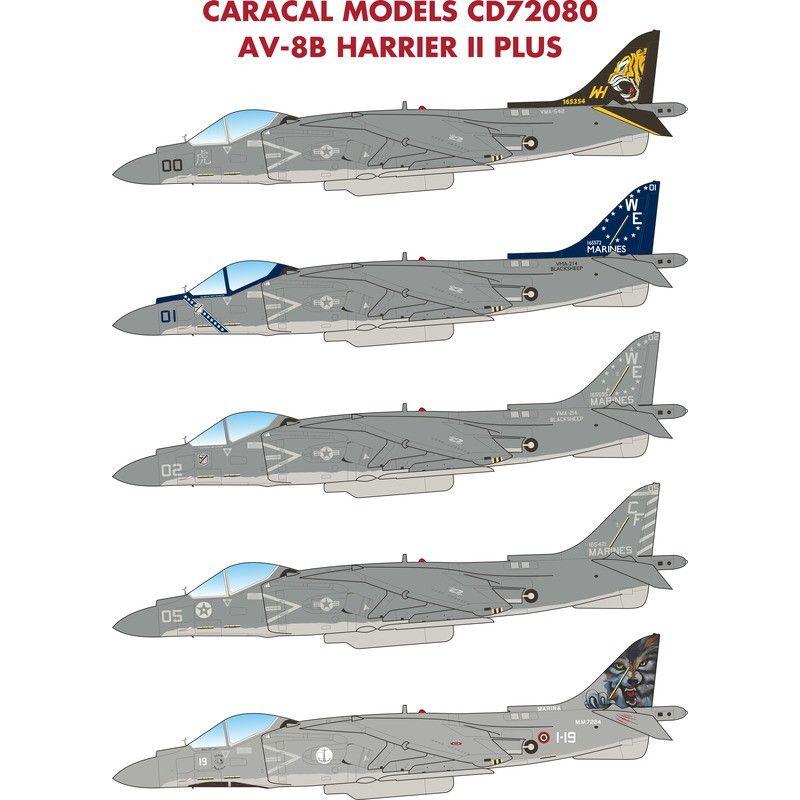【新製品】72080 AV-8B ハリアーII プラス