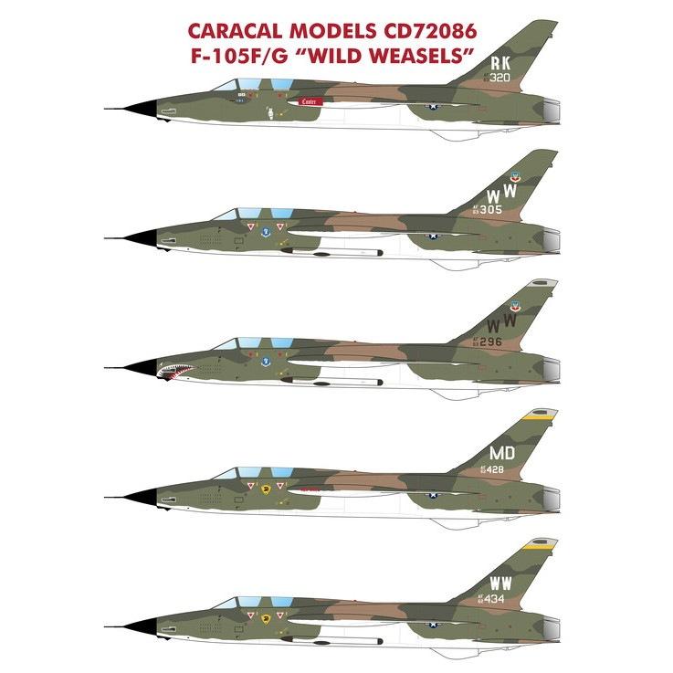 【新製品】72086 リパブリック F-105F/G サンダーチーフ