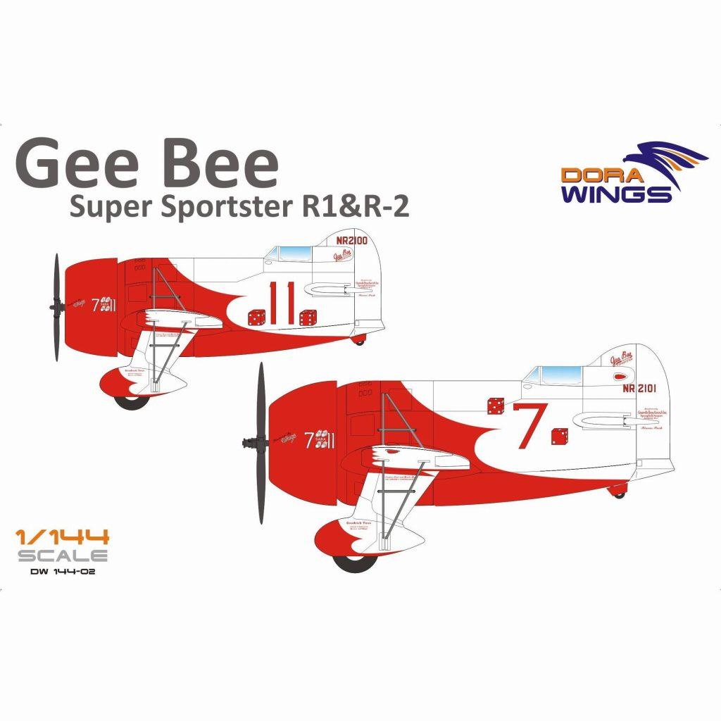 【新製品】DW14402 ジービー R1 & R2 レース機「2イン1」 (2機入り)