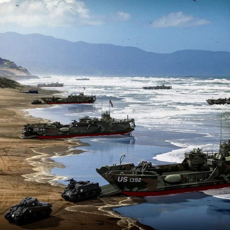 【新製品】350003 戦車揚陸艇 LCT(6)